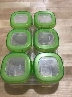 OXO TOT 食物儲存格/冷藏格 (60ml x 6格)