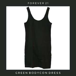 Forever 21: Forest Green Bodycon Dress