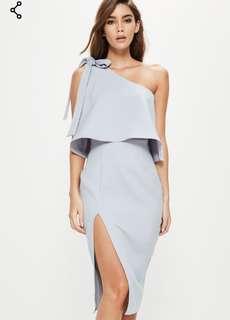 Off the shoulder mid formal dress