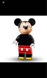 LEGO Mickey Mouse minifigure Disney new sealed