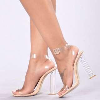 Fashionnova transparent heels fashion nova