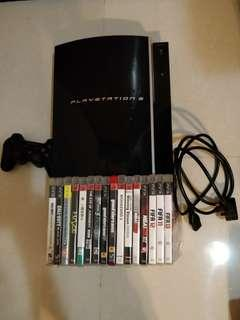 16 games+PlayStation 3 Console