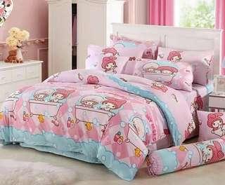 032 Pattern Bedsheet Set
