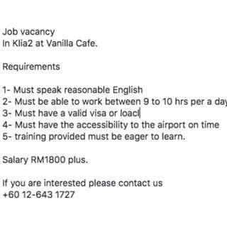 Vanilla Cafe express