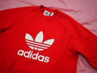 Adidas original 紅色 衛衣