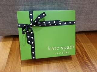 Kate Spade box and carrier