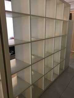 5x5 shelves