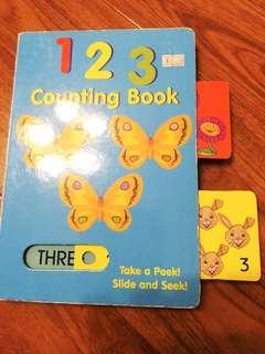 大硬皮書, counting book
