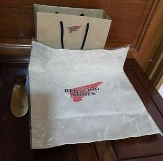 RED WINGS SHOES - AUTHENTIC CANVAS BAG + SHOE HORN
