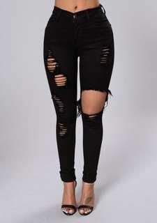 TRADE ONLY - Fashion Nova Glistening Jeans (3)