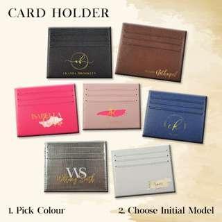 Custom Card Holder Dompet Kartu Signature