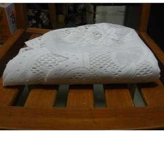 白織紋桌巾 大size 全新