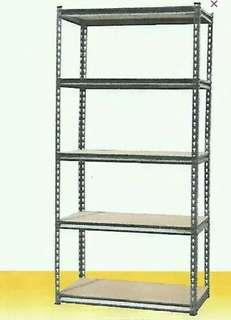 5 layer adjustable boltless shelves
