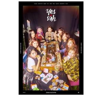 TWICE THE 6TH MINI ALBUM YES OR YES