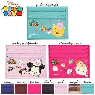 Custom Card holder Dompet Kartu Disney Tsum Tsum
