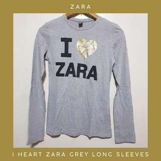 I 💛 ZARA Grey Long Sleeves