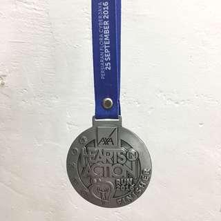 Medal Hearts in Action Run 2016