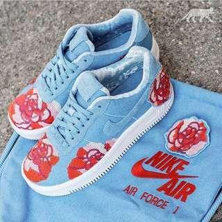 🚚 Nike Wmns Air Force 1 Upstep LX *Floral Sequin*