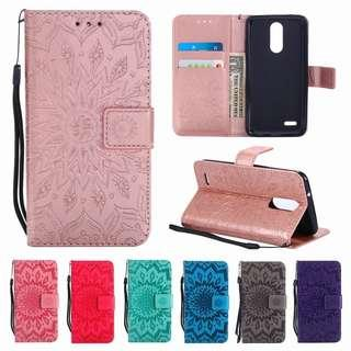Samsung Galaxy / Phone Cover / Mandala / Flip Case / Leather