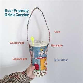 🚚 Pro-Earth Cartoon Drink Carrier