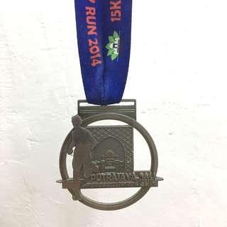 Medal Putrajaya Urban City Run 2014