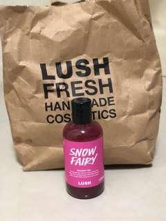 lush shower gels and body conditioner