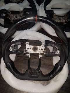 New Carbon Fibre Steering Wheel for Honda civic FC, FK, civic X, 10th gen