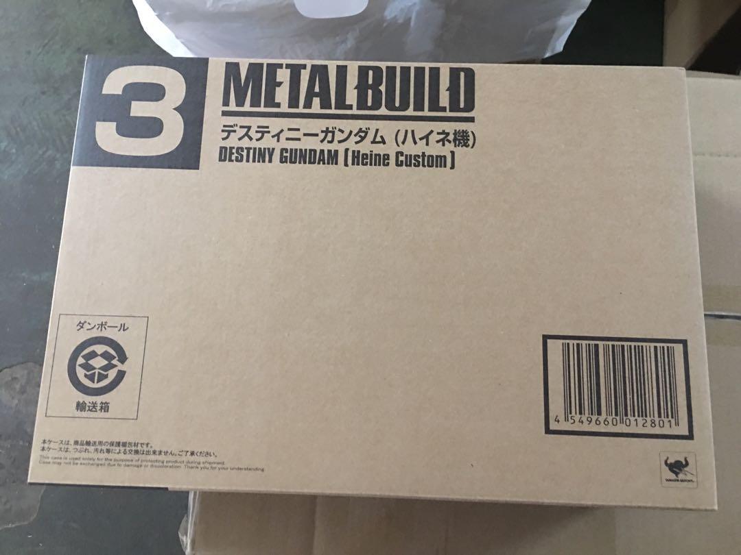 全新 日版 啡盒未開 TAMASHII NATIONS 2015 魂shop限定 Metal Build Destiny Gundam Heine Custom Gundam Seed Destiny 命運高達