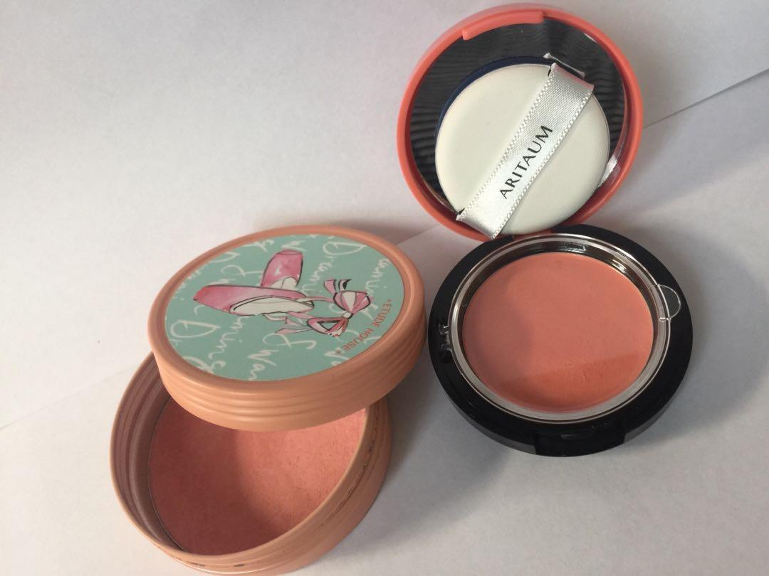 [ Korean Cosmetics] Etude House blusher ; Aritaum cream blusher