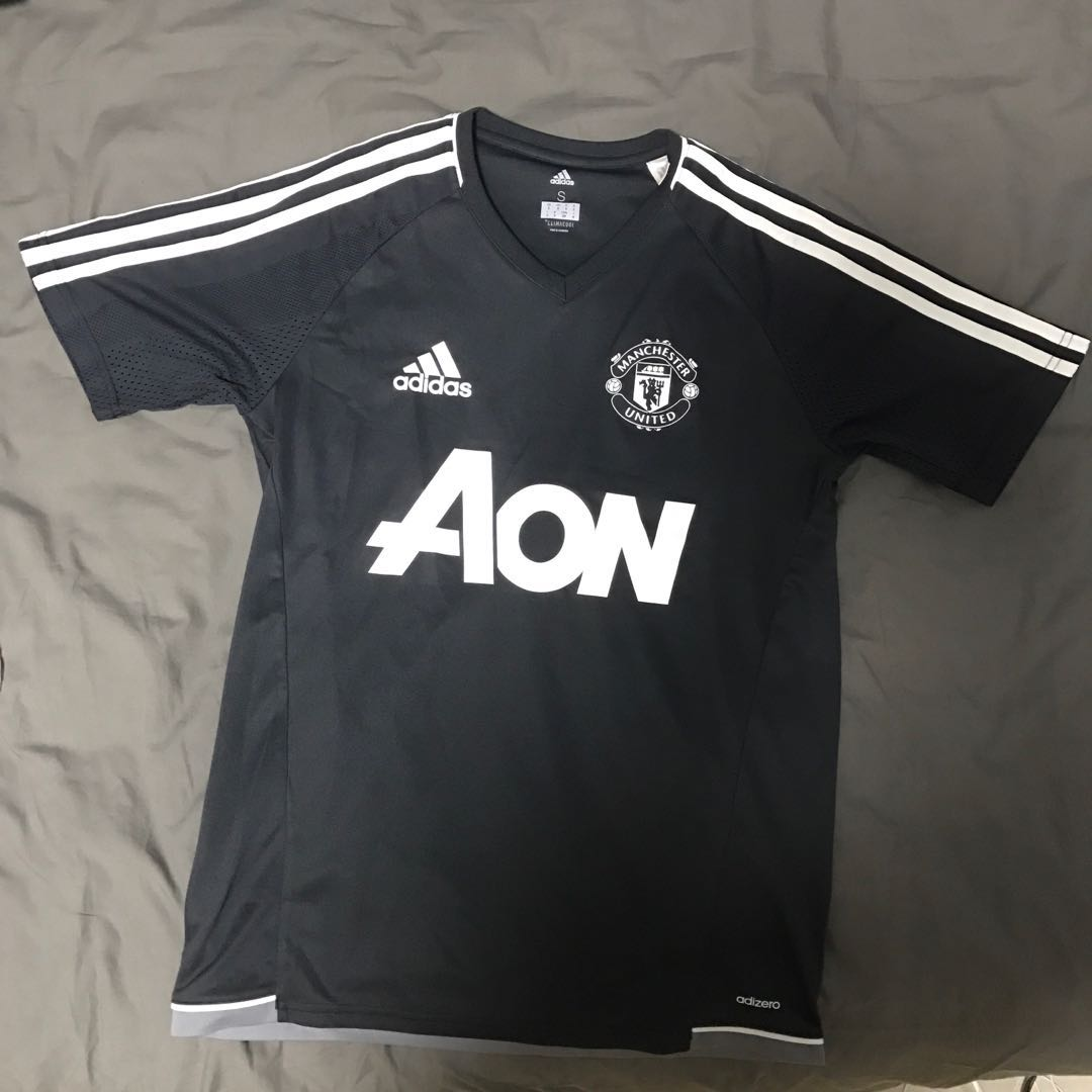 c063440cffe Adidas Manchester United Soccer Shirt, Sports, Sports Apparel on ...
