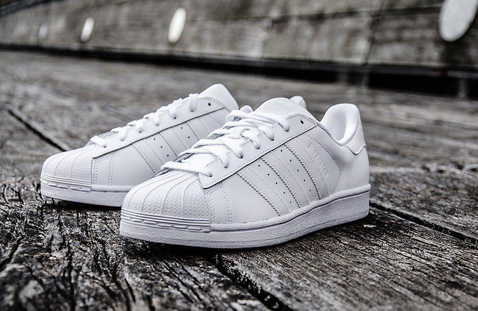 Adidas Superstar Triple White, Women's