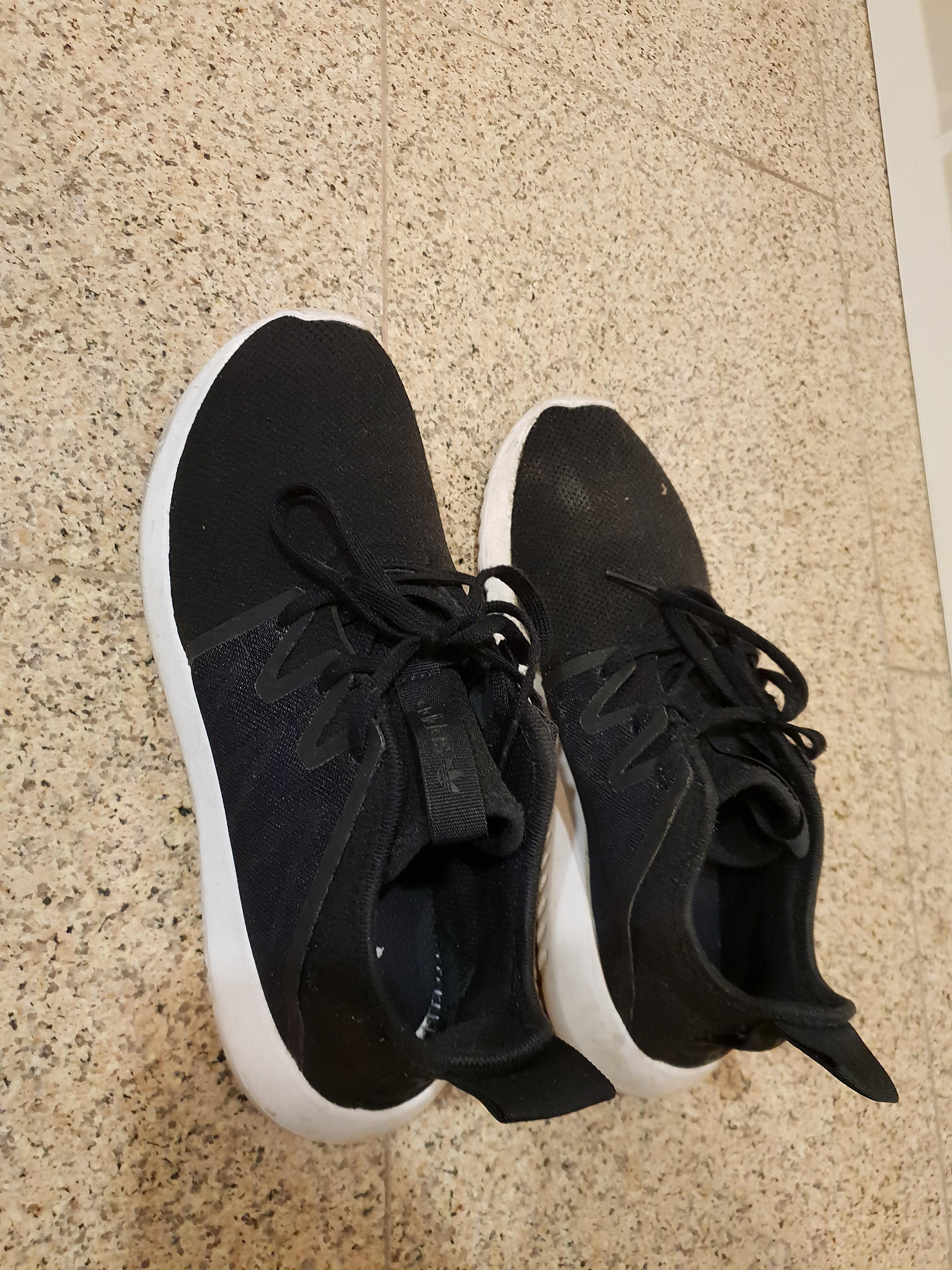 huge selection of 285bc 97dd8 Adidas Tubular viral 2 black, Women's Fashion, Shoes ...