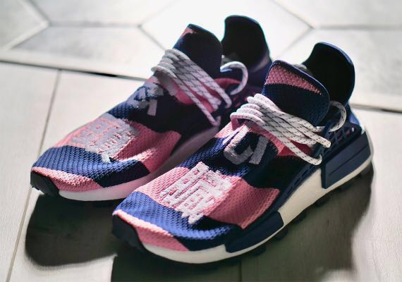 89a70f59e Adidas x BBC NMD Human Race Navy Pink (Exclusive)