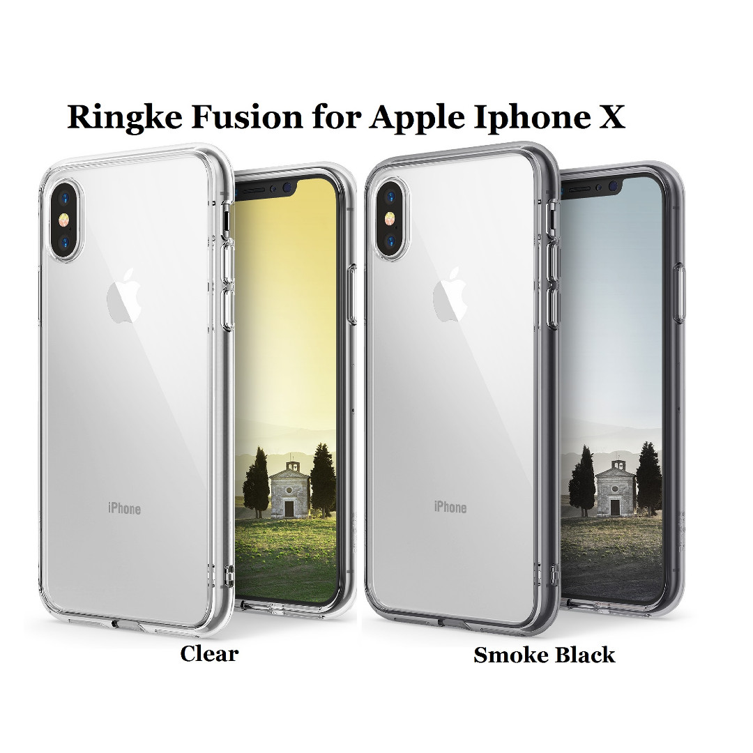pretty nice 2764e 83ff7 Apple Iphone X Ringke Fusion