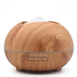 Aroma Diffuser Essential Oil with LED Light 400ml (Floia)