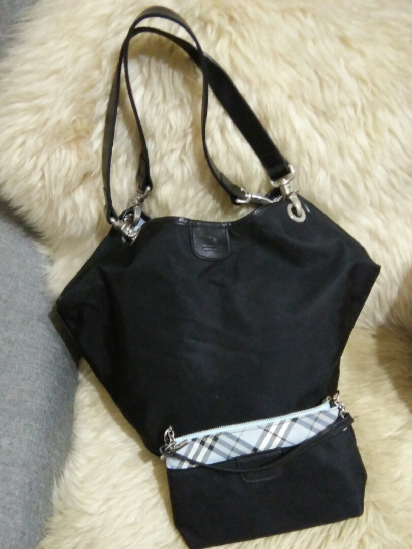 0b45d11f9f72 Fast deal  130 Auth Burberry Blue Label set come with small pouch ...