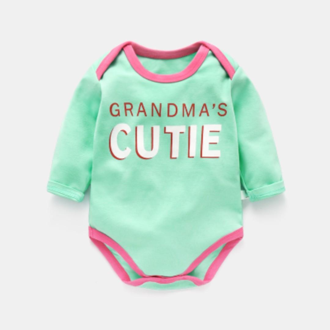 520ff917f Baby Kids Toddler Romper Bodysuit Sleepwear Long Sleeve 0-18 Months ...