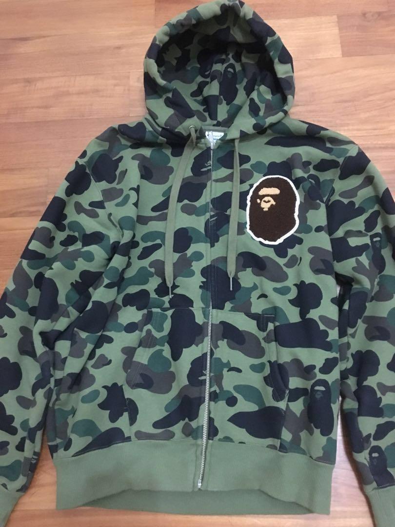 549db9bce916 Bape x champion zip up hoodie
