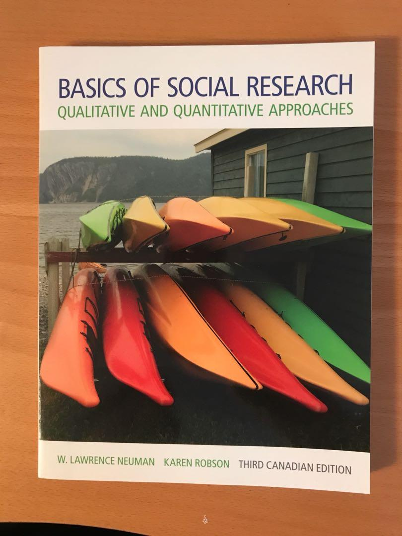 Basics of Social Research (third Canadian edition)