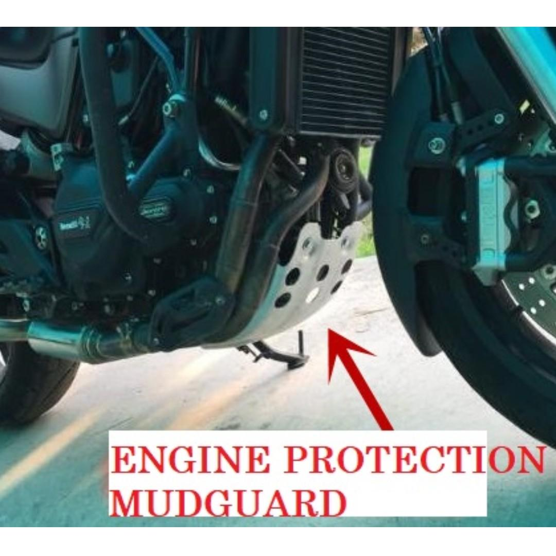 BENELLI LEONCINO 500 SKID PLATE/ BELLY PAN