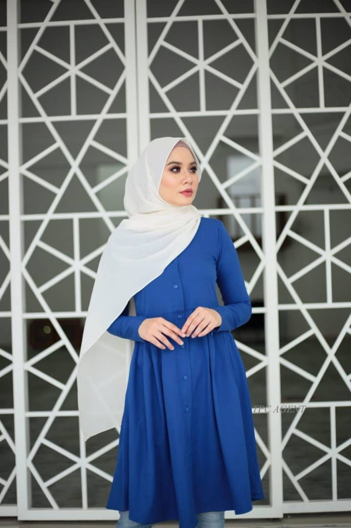 d34dbc92e5 Blouse - balqis tunic by the peaches couture