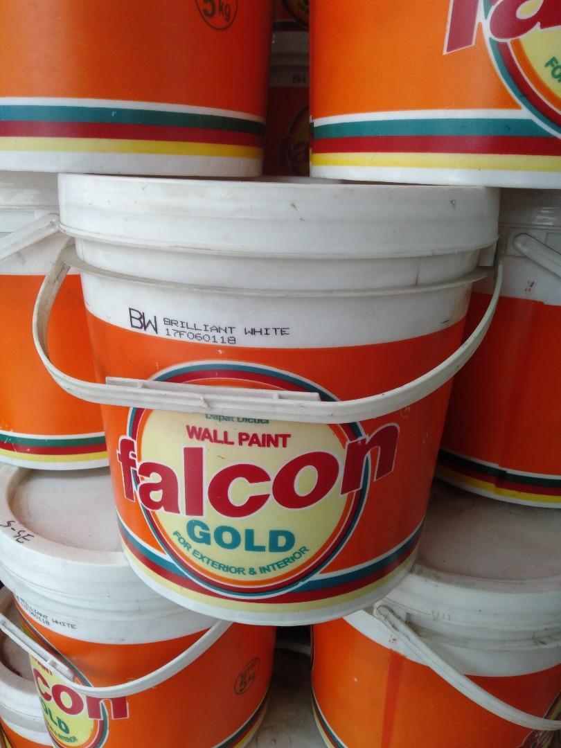 Cat Tembok Falcon Gold Berbagai Warna Ukuran 5 Kg Everything Else