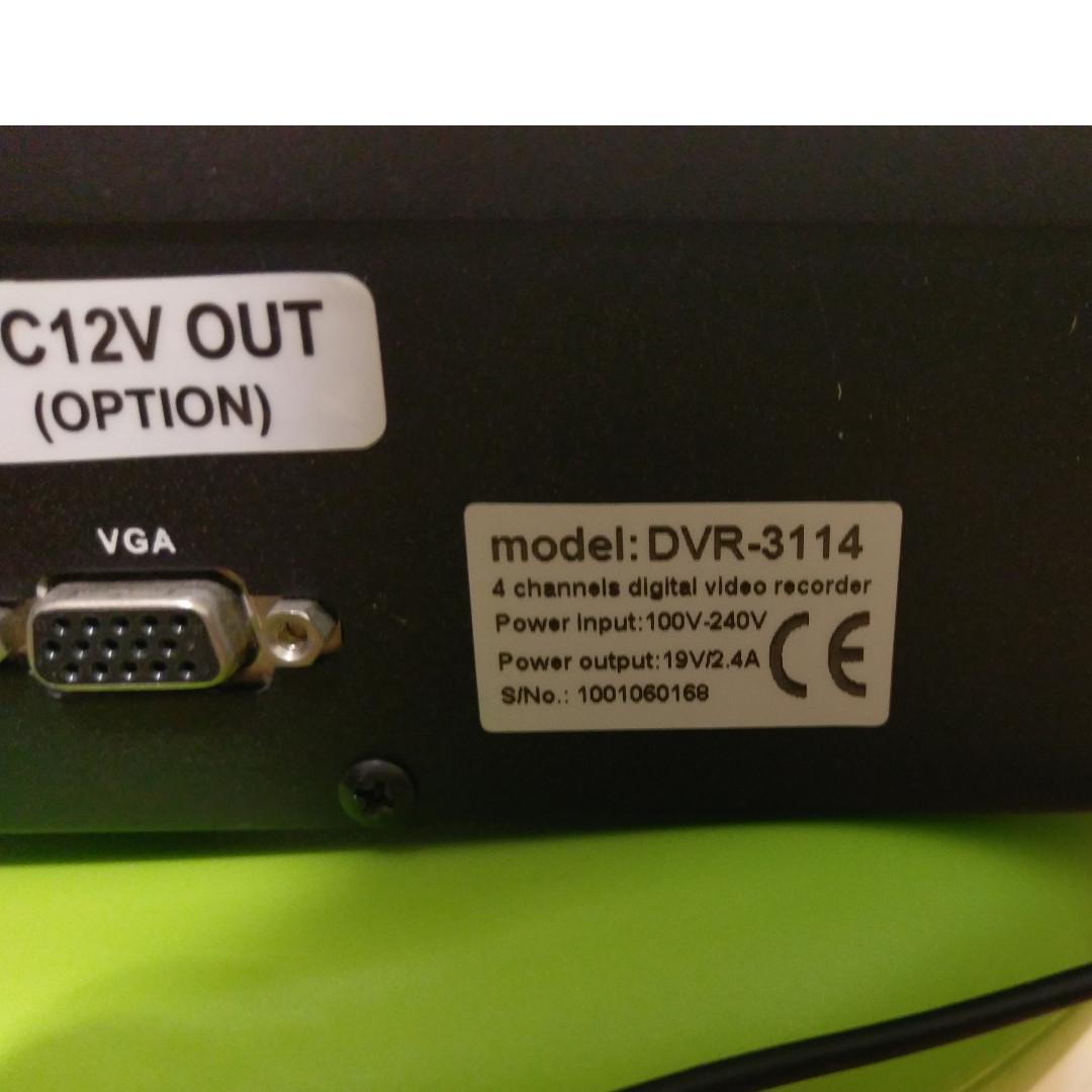 Cyview 4CH DVR 可手機apps remote 睇cam