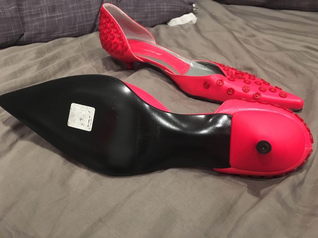 Fornarina pink mini heels