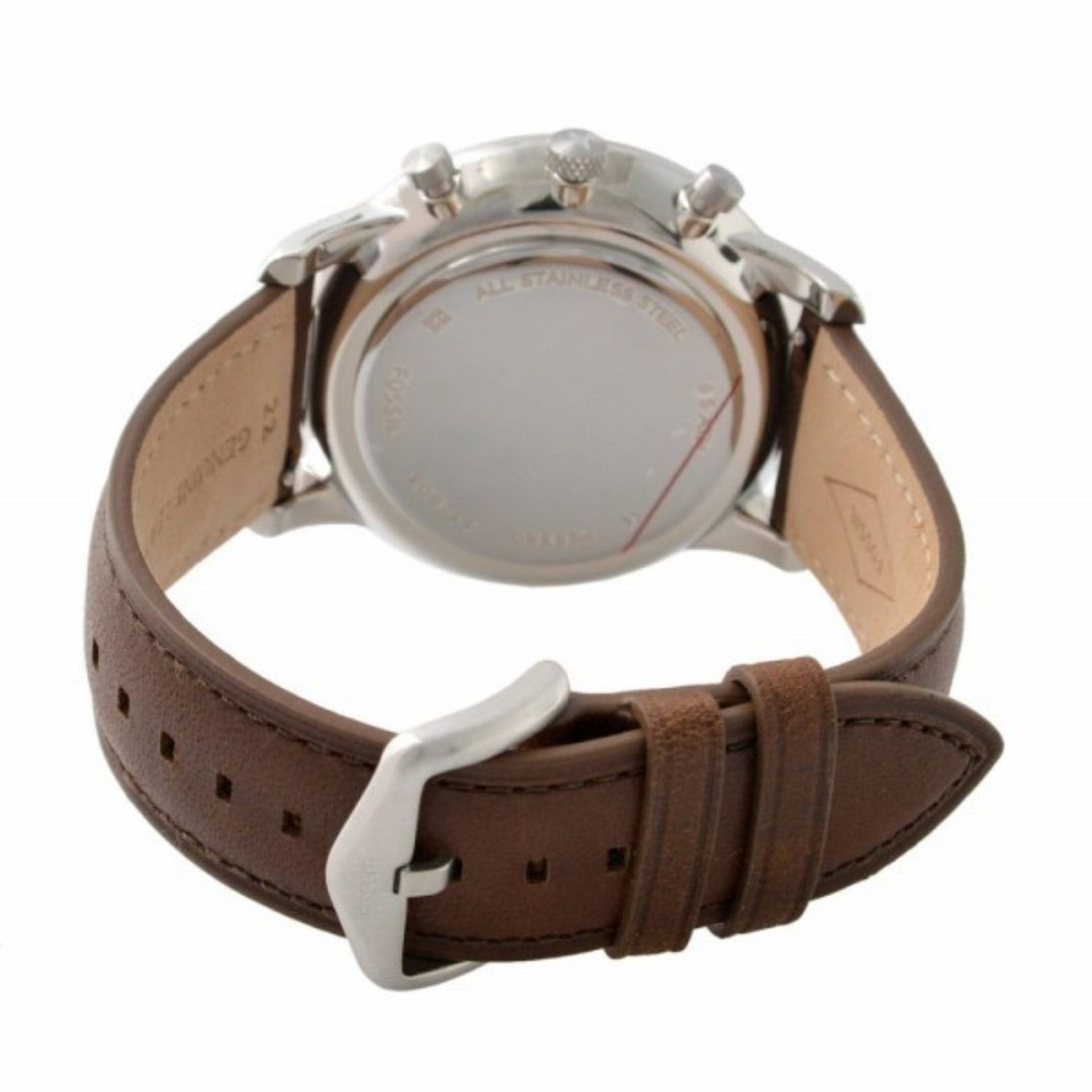 51c411845e6 Fossil Neutra Chronograph Brown Leather Men Watch FS5380