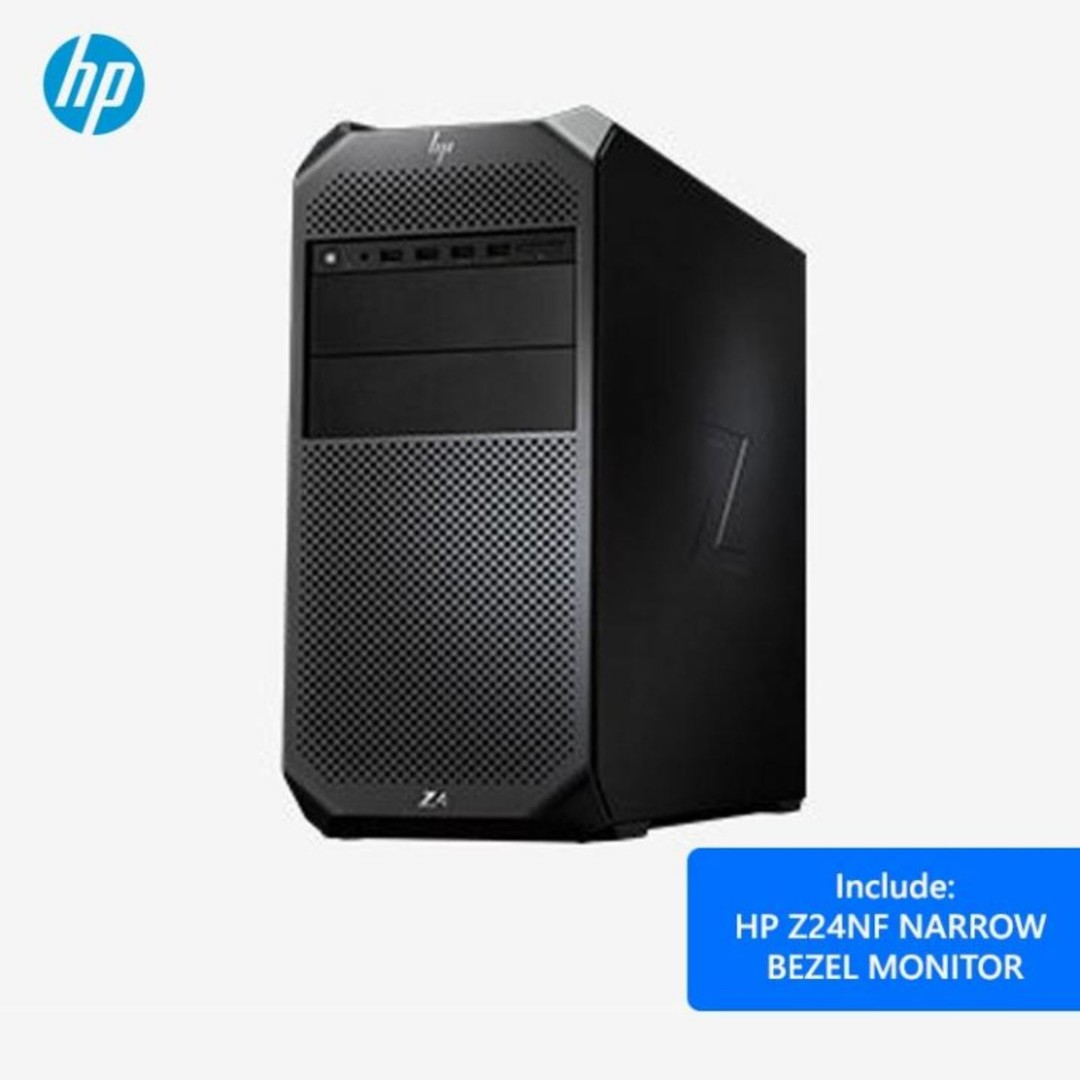 HP Z4 G4 WORKSTATION WITH NVIDIA QUADRO P2000