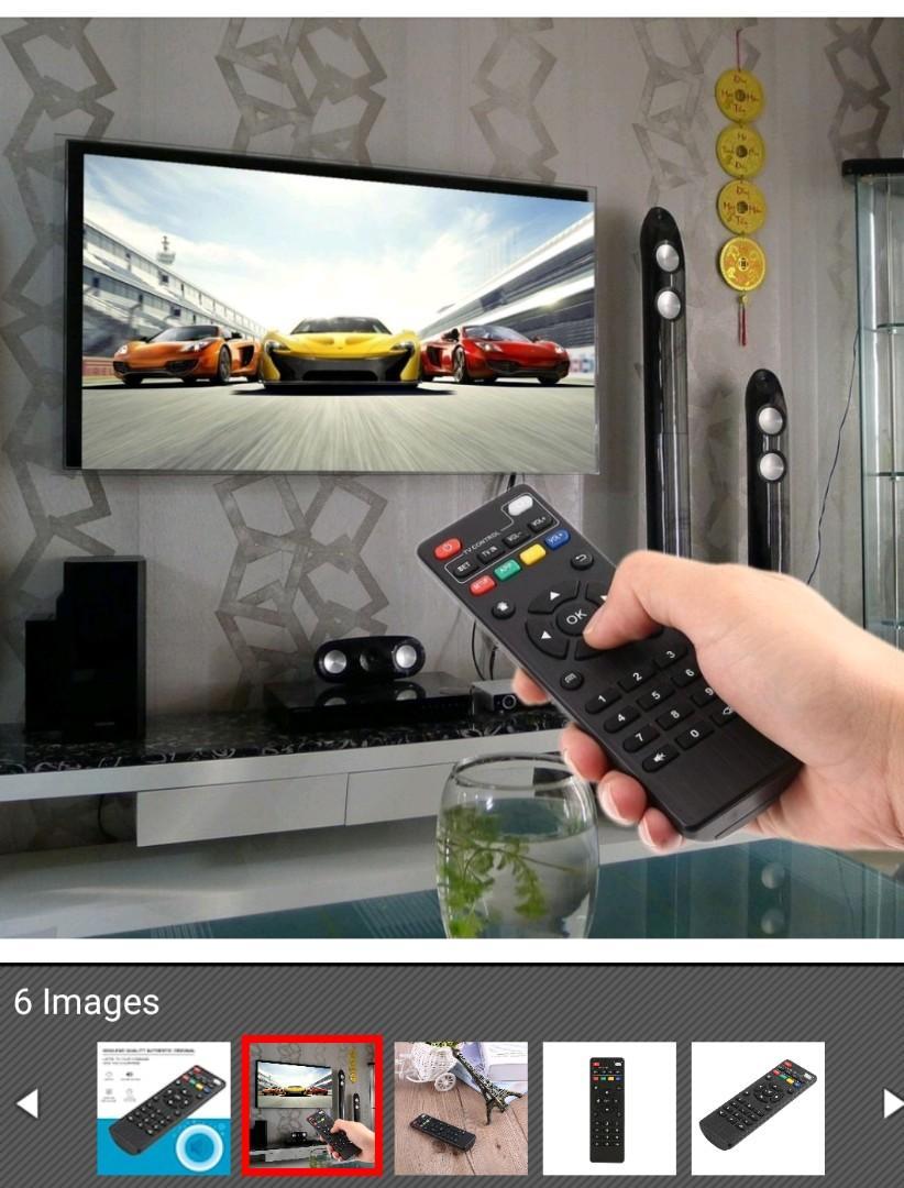 IR Remote Control for Android TV Box MXQ/MXQ PRO/ MXQ PRO+/