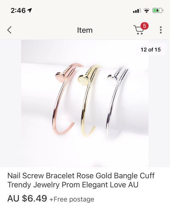 Juste Un Clou bracelets