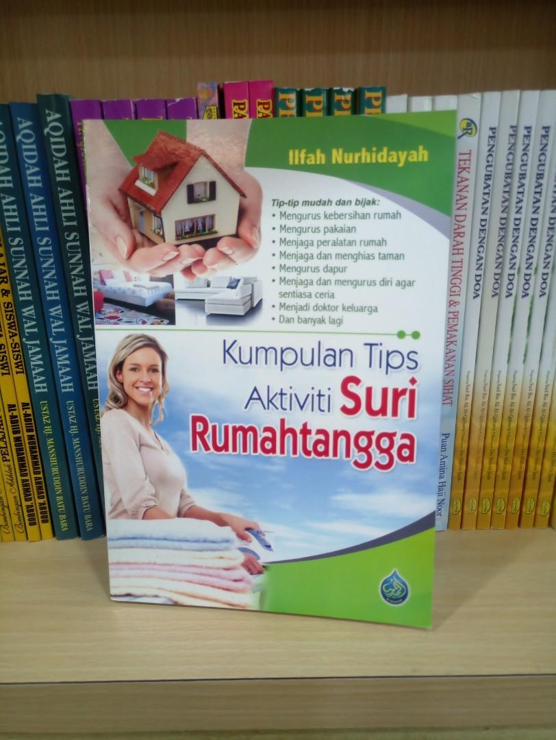 Kumpulan Tips Aktiviti Suri Rumahtangga, Books & Stationery, Books ...