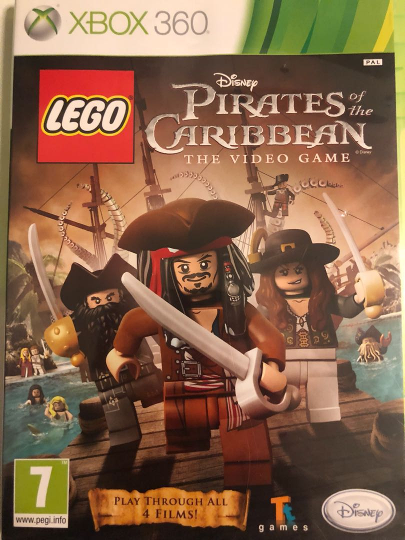 Lego Pirates Of The Caribbean Xbox 360 Toys Games Video Gaming